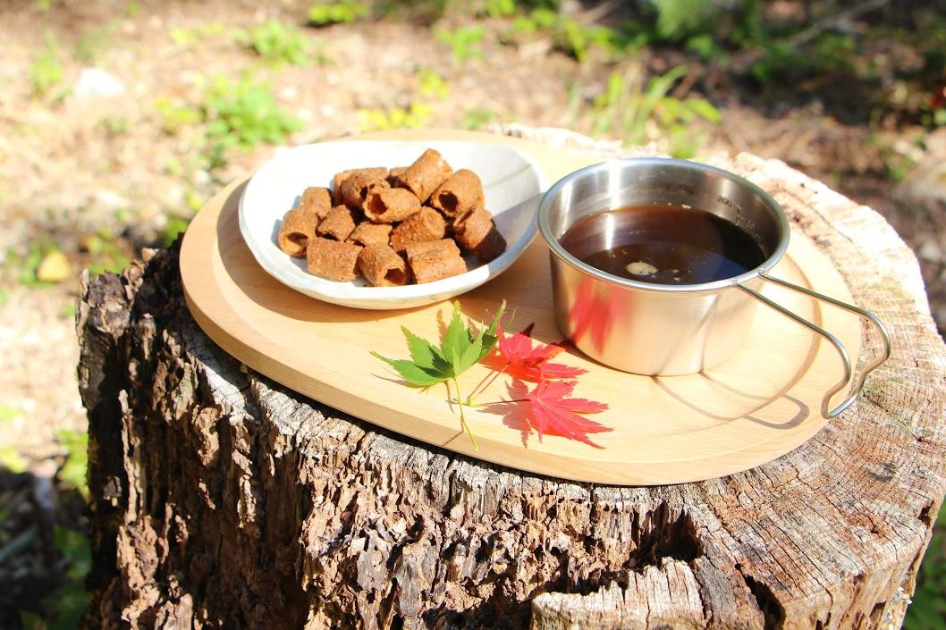 湧水コーヒーと紅葉を楽しむハイキング